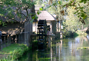 安曇野の水車小屋